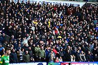 Preston North End fans look on<br /> <br /> Photographer Richard Martin-Roberts/CameraSport<br /> <br /> The EFL Sky Bet Championship - Bolton Wanderers v Preston North End - Saturday 9th February 2019 - University of Bolton Stadium - Bolton<br /> <br /> World Copyright © 2019 CameraSport. All rights reserved. 43 Linden Ave. Countesthorpe. Leicester. England. LE8 5PG - Tel: +44 (0) 116 277 4147 - admin@camerasport.com - www.camerasport.com