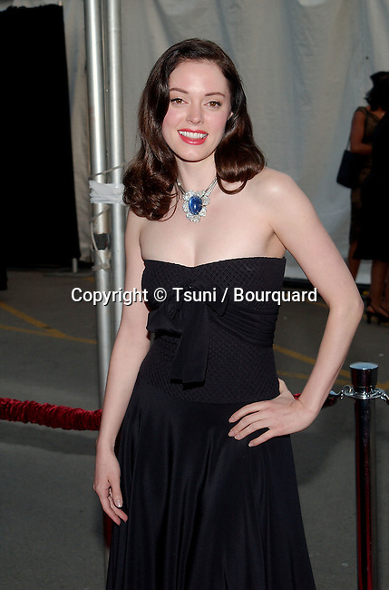 Rose McGowan arrives  at the 29th Annual American Music Awards  at the Shrine Auditorium in Los Angeles  Wednesday, Jan. 9, 2002.            -            McGowanRose02A.jpg