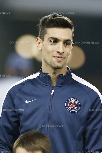 Javier Pastore (PSG), NOVEMBER 25, 2014 - Football / Soccer : UEFA Champions League Group F match between Paris Saint-Germain 3-1 AFC Ajax at the Parc des Princes Stadium in Paris, France. (Photo by Mutsu Kawamori/AFLO) [3604]