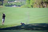 Charles Howell III (USA) hits from the deep trap on 6 during round 4 of the World Golf Championships, Dell Technologies Match Play, Austin Country Club, Austin, Texas, USA. 3/25/2017.<br /> Picture: Golffile | Ken Murray<br /> <br /> <br /> All photo usage must carry mandatory copyright credit (&copy; Golffile | Ken Murray)