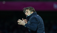 Wycombe Wanderers Manager Gareth Ainsworth during the Sky Bet League 2 match between Wycombe Wanderers and Portsmouth at Adams Park, High Wycombe, England on 28 November 2015. Photo by Andy Rowland.
