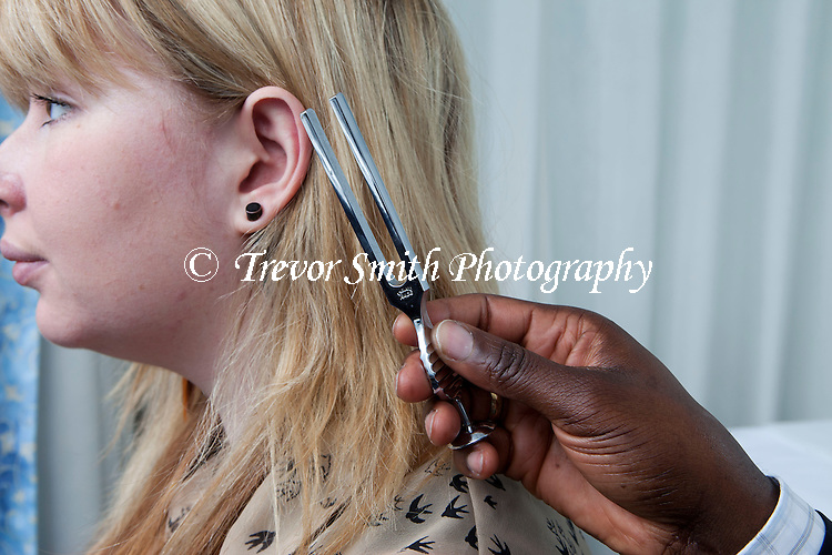 Consultant ENT Head & Neck Surgeon hearing examination