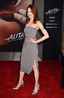 WESTWOOD, CA - FEBRUARY 05: Elizabeth J. Carlisle attends the Premiere Of 20th Century Fox's 'Alita: Battle Angel' at Westwood Regency Theater on February 05, 2019 in Los Angeles, California.<br /> CAP/ROT/TM<br /> ©TM/ROT/Capital Pictures