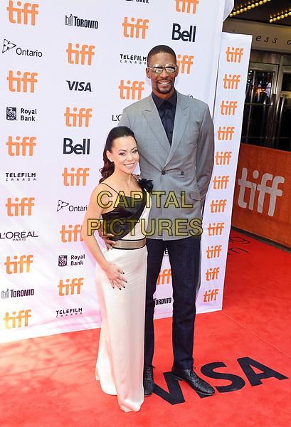 09 September 2017 - Toronto, Ontario Canada - Adrienne Bosh, Chris Bosh. 2017 Toronto International Film Festival - &quot;The Carter Effect&quot; Premiere held at Roy Thomson Hall. <br /> CAP/ADM/BPC<br /> &copy;BPC/ADM/Capital Pictures