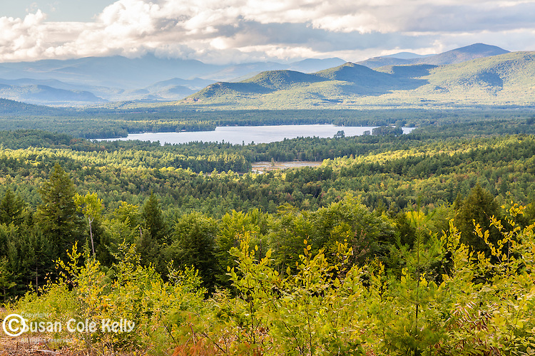 View of Mount Washington from Conway, New Hampshire, USA