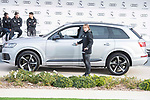 Luka Modric of Real Madrid CF poses for a photograph after being presented with a new Audi car as part of an ongoing sponsorship deal with Real Madrid at their Ciudad Deportivo training grounds in Madrid, Spain. November 23, 2017. (ALTERPHOTOS/Borja B.Hojas)