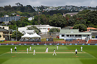 Action from day four of the international cricket test between the NZ Black Caps and the West Indies at the Hawkins Basin Reserve in Wellington, New Zealand on Monday, 4 December 2017. Photo: Dave Lintott / lintottphoto.co.nz