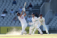 Ryan ten Doeschate hits out during Lancashire CCC vs Essex CCC, Specsavers County Championship Division 1 Cricket at Emirates Old Trafford on 11th June 2018