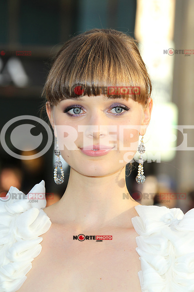 Bella Heathcote at the premiere of Warner Bros. Pictures' 'Dark Shadows' at Grauman's Chinese Theatre on May 7, 2012 in Hollywood, California. ©mpi26/ MediaPunch Inc.
