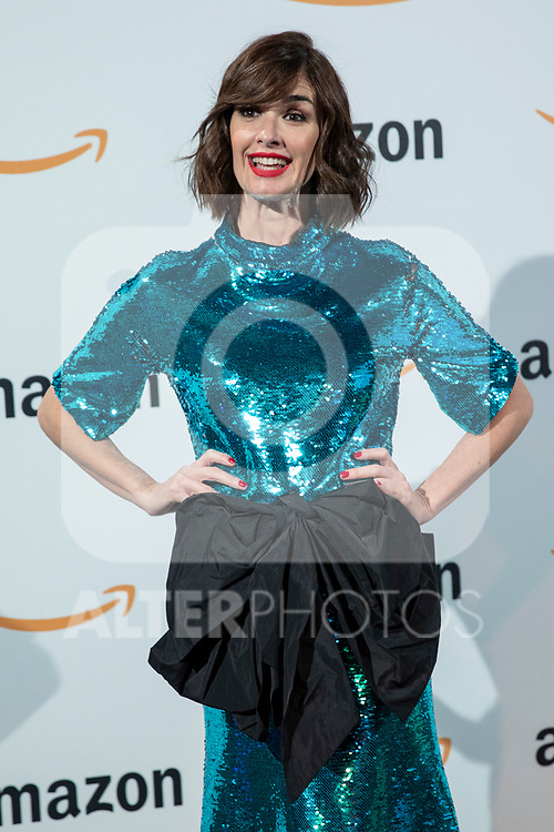 Paz Vega poses during the inauguration of Amazon´s POP-UP at Callao cinemas<br /> November 27, 2019. <br /> (ALTERPHOTOS/David Jar)