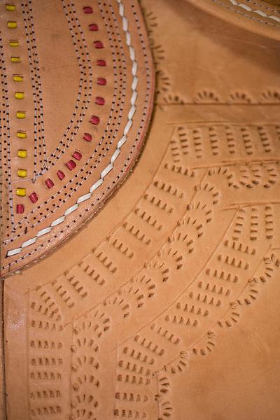 Nova Olinda_CE, 15 de Setembro de 2012<br /> <br /> Na foto, trabalho em couro do Mestre Espedito Seleiro<br /> <br /> Foto: LEO DRUMOND / NITRO