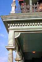 Los Angeles: Hale House, Detail.