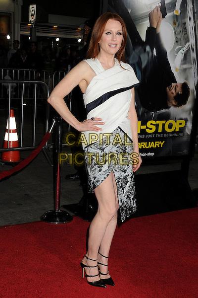 LOS ANGELES, CA - FEBRUARY 24 - Julianne Moore. &quot;Non-Stop&quot; Los Angeles Premiere held at the Regency Village Theatre. <br /> CAP/ADM/BP<br /> &copy;Byron Purvis/AdMedia/Capital Pictures