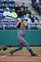 Danny Edgeworth (17) of the Boise Hawks bats against the Everett AquaSox at Everett Memorial Stadium on July 21, 2017 in Everett, Washington. Boise defeated Everett, 10-4. (Larry Goren/Four Seam Images)