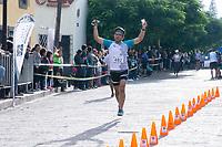 Querétaro, Qro. 26 de junio de 2018.-  Aspectos de la tercera edición de la carrera Corregidora