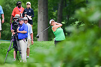 Gerina Piller (USA) watches her tee shot on 8 during Thursday's first round of the 72nd U.S. Women's Open Championship, at Trump National Golf Club, Bedminster, New Jersey. 7/13/2017.<br /> Picture: Golffile | Ken Murray<br /> <br /> <br /> All photo usage must carry mandatory copyright credit (&copy; Golffile | Ken Murray)
