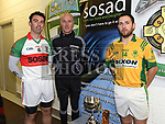 Club captains John Flood Duleek / Bellewstown and Andy Everard St. Marys. Photo:Colin Bell/pressphotos.ie