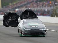 Mar 17, 2019; Gainesville, FL, USA; NHRA pro stock driver Deric Kramer during the Gatornationals at Gainesville Raceway. Mandatory Credit: Mark J. Rebilas-USA TODAY Sports