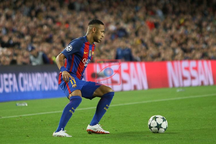 UEFA Champions League 2016/2017 - Matchday 3.<br /> FC Barcelona vs Manchester City FC: 4-0.<br /> Neymar.