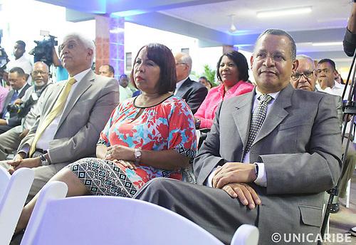 Nelson Guillén, Zoila Puello y Fausto Rosario Adames.