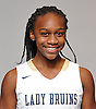 Kaia Harrison of Baldwin poses for a portrait during the Newsday girls basketball season preview photo shoot at company headquarters on Tuesday, Dec. 13, 2016.