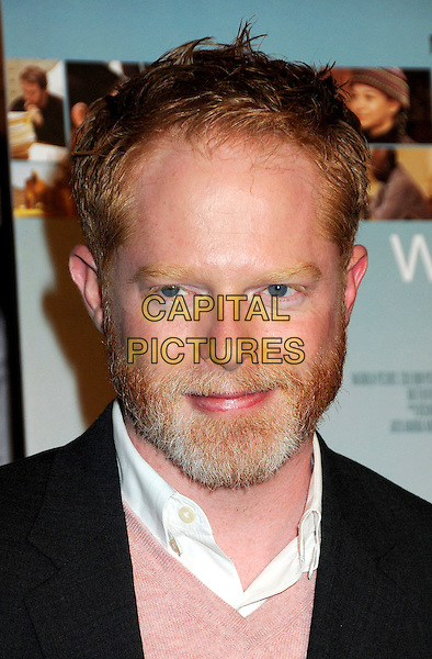 "JESSE TYLER FERGUSON .Attending ""Wonderful World"" Los Angeles Premiere held at the Director's Guild Theatre, West Hollywood, California, USA, 7th January 2010..portrait headshot beard facial hair pink sweater v-neck jumper .CAP/ADM/BP.©Byron Purvis/AdMedia/Capital Pictures."