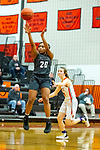 20 February 2020:  Lincoln Way West Warriors v Normal Community West Wildcats for the IHSA Girl's Regional in the gym at Normal Community in Normal IL<br /> <br /> 20