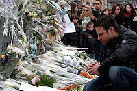 Tuerie de Liège - Hommage aux victimes Place Saint Lambert