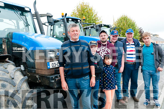 Tractor Poker Run: Pictured at Duagh's first tractor poker run held in aid of Duagh DAon Sunday last were John DowlingTJ Griffin,Margaret Dore, Tom Griffin, Ger Barry, Mike Barry & Thomas Barry.