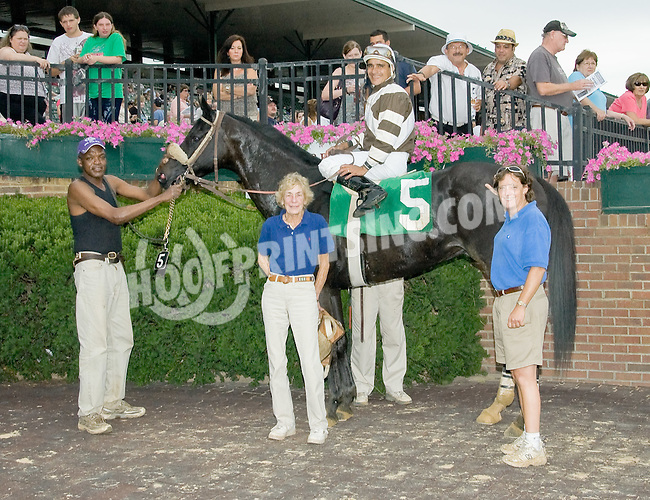 Crow Bar winning at Delaware Park on 7/14/12