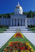Vermont, VT, State House in the summer in Montpelier.