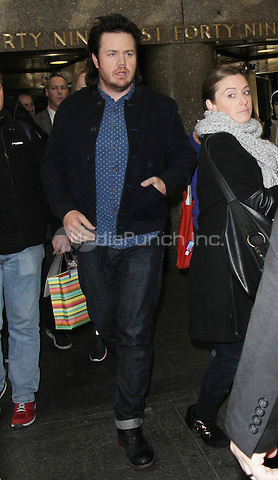 NEW YORK, NY - DECEMBER 6: Josh McDermitt seen after an appearance on NY Live on December 6, 2016  in New York City. Credit: RW/MediaPunch