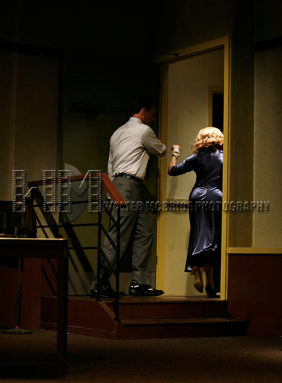 """***Exclusive Coverage***.Curtain Call for """"LOOPED"""" starring Valerie Harper as Tallulah Bankhead at the Arena Stage - Ford Theatre  in Washington, D.C. June 12, 2009.pictured: Valerie Harper & Jay Goede."""