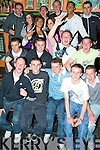 Birthday Bash - John O'Connor from Oakpark, seated centre front, enjoying his 18th birthday with friends in The Huddle Bar on Saturday night............................................................................................................................................................................................................... ............