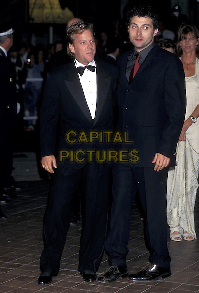 KIEFFER SUTHERLAND & RUFUS SEWELL.Cannes Film Festival.May 1998.ref:7424.full length kiefer keiffer keffer.www.capitalpictures.com.sales@capitalpictures.com.©Capital Pictures