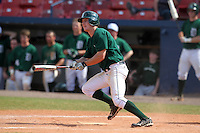 Dartmouth Big Green third baseman Jeff Keller #4 during a game vs. the Northwestern Wildcats at Chain of Lakes Park in Winter Haven, Florida;  March 20, 2011.  Northwestern defeated Dartmouth 3-2.  Photo By Mike Janes/Four Seam Images