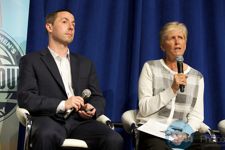 06 APR 2015:  The NCAA hosted a Final Four Summit during the 2015 Women's Final Four at the Tampa Convention Center in Tampa, FL. Trevor Brown, Jr./NCAA Photos