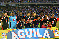 BARRANQUILLA -COLOMBIA ,20-07-2017.  Formación del América de Cali durante encuentro contra El AtlétocoJunior por la fecha 3 de la Liga Aguila II 2017 disputado en el estadio Metropolitano Roberto Meléndez de Barranquilla/ Team  of America of Cali   during match agaisnt of Atletico Junior for the date 3 of the Aguila League II 2017 played at Metropolitano Roberto Melendez in Barranquilla . Photo:VizzorImage / Alfonso Cervantes  / Cont