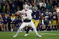 Stanford Football vs Notre Dame, September 29, 2018