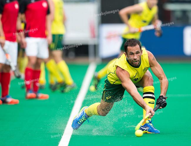 26/06/2015<br /> HWL Semi Final Antwerp Belgium 2015<br /> Australia v Poland<br /> <br /> Photo: Grant Treeby