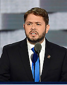 United States Representative Ruben Gallego (Democrat of Arizona) makes remarks during the third session of the 2016 Democratic National Convention at the Wells Fargo Center in Philadelphia, Pennsylvania on Wednesday, July 27, 2016.<br /> Credit: Ron Sachs / CNP<br /> (RESTRICTION: NO New York or New Jersey Newspapers or newspapers within a 75 mile radius of New York City)