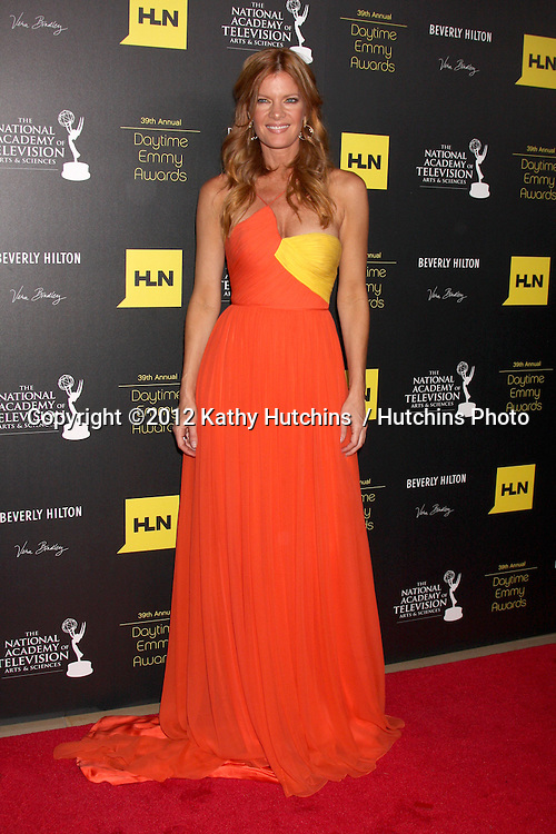 LOS ANGELES - JUN 23:  Michelle Stafford arrives at the 2012 Daytime Emmy Awards at Beverly Hilton Hotel on June 23, 2012 in Beverly Hills, CA