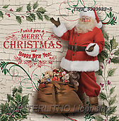 Isabella, NAPKINS, SERVIETTEN, SERVILLETAS, Christmas Santa, Snowman, Weihnachtsmänner, Schneemänner, Papá Noel, muñecos de nieve, realistic animals, realistische Tiere, animales re, paintings+++++,ITKE533302S-L,#SV#,#X#, EVERYDAY ,nostalgic,retro