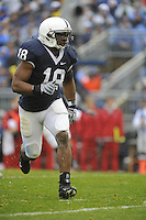 15 November 2008:  Penn State LB Navorro Bowman (18)..The Penn State Nittany Lions defeated the Indiana Hoosiers 34-7 at Beaver Stadium in State College, PA..