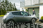 DJ Hickey from Castleisland with his new Nissan Leaf electric Car