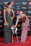 Thais Blume and Maria Esteve attends red carpet of Goya Cinema Awards 2018 at Madrid Marriott Auditorium in Madrid , Spain. February 03, 2018. (ALTERPHOTOS/Borja B.Hojas)