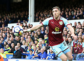 1st October 2017, Goodison Park, Liverpool, England; EPL Premier League Football, Everton versus Burnley; Stephen Ward of Burnley in action