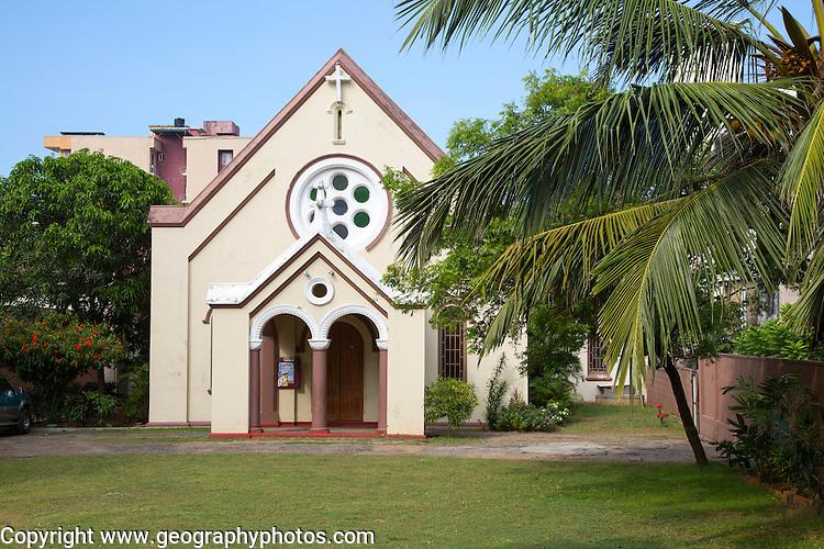 Dutch Reformed Church, Bambalapitiya, Colombo, Sri Lanka, Asia