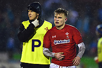 Wales U20's Harri Morgan looks on<br /> <br /> Photographer Richard Martin-Roberts/CameraSport<br /> <br /> Six Nations U20 Championship Round 4 - Wales U20s v Italy U20s - Friday 9th March 2018 - Parc Eirias, Colwyn Bay, North Wales<br /> <br /> World Copyright &not;&copy; 2018 CameraSport. All rights reserved. 43 Linden Ave. Countesthorpe. Leicester. England. LE8 5PG - Tel: +44 (0) 116 277 4147 - admin@camerasport.com - www.camerasport.com