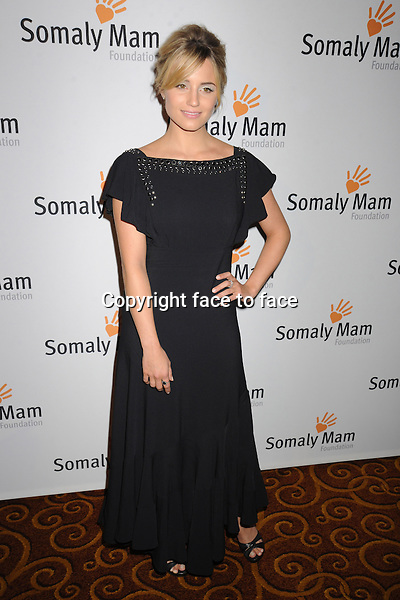 NEW YORK, NY - OCTOBER 23: Dianna Agron at Somaly Mam Foundation's &quot;Life Is Love&quot; Gala to celebrate hope, action and change in the fight to end slavery at Gotham Hall in New York. October 23, 2013. <br /> Credit: MediaPunch/face to face<br /> - Germany, Austria, Switzerland, Eastern Europe, Australia, UK, USA, Taiwan, Singapore, China, Malaysia, Thailand, Sweden, Estonia, Latvia and Lithuania rights only -